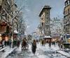 Antoine Blanchard's 'La Porte St. Denis.'