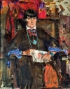 Nicolai Fechin (1881–1955), Mabel Dodge Luhan, 1927. Oil on canvas, 50 x 40 inches. The Anschutz Collection, Denver, Col.