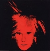 Andy Warhol's 1986 'Self-Portrait'.