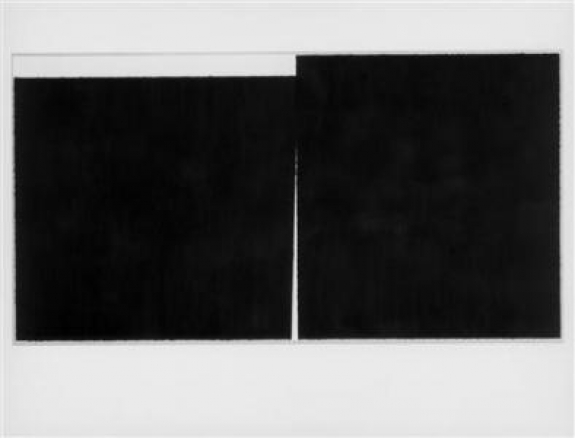 "A 1989 sketch by artist Richard Serra entitled ""The United States Government Destroys Art""."