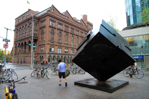 The Astor Place Cube.