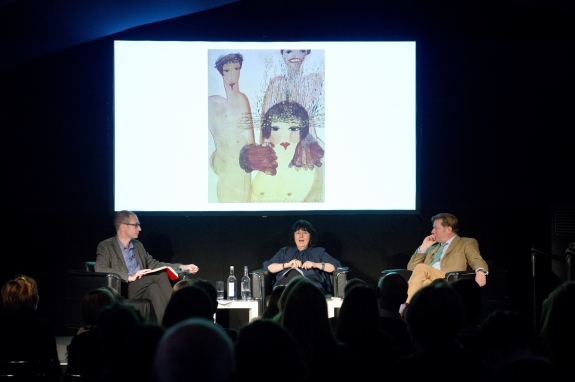 Panel on Writing, Frieze Masters Talks 2015. Photograph by Linda Nylind. Courtesy of Linda Nylind/Frieze.