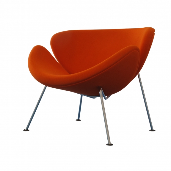Pierre Paulin's Orange Slice Chair.