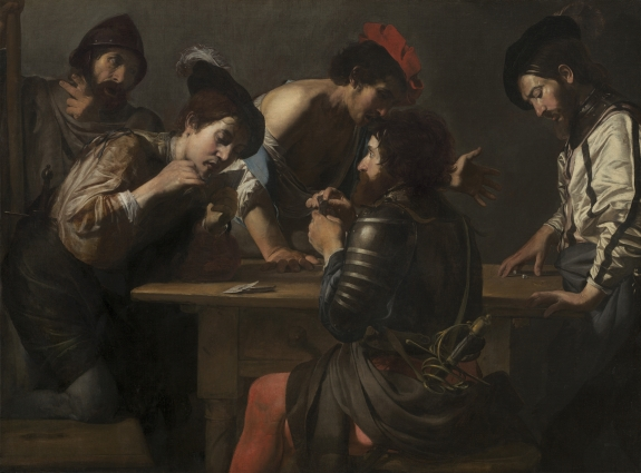 An example of a work by Valentin de Boulogne.