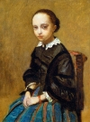 """""""Portrait of a Girl"""" by Jean-Baptiste-Camille Corot. The painting is missing after a man hired to help sell the painting misplaced it after a night of drinking. The owner valued it at $1.4 million."""