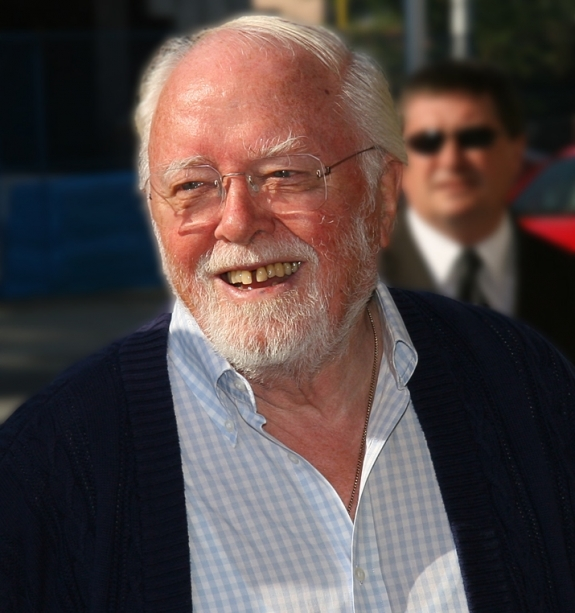 Richard Attenborough.