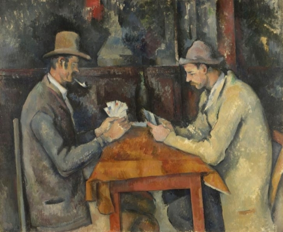 On Display: 'Cézanne's Card Players' at the Met