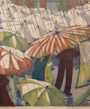 Detail from Wet Afternoon by Ethel Spowers (1890-1947).