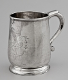 A 1720s Armorial Silver Cann from Charleston, South Carolina