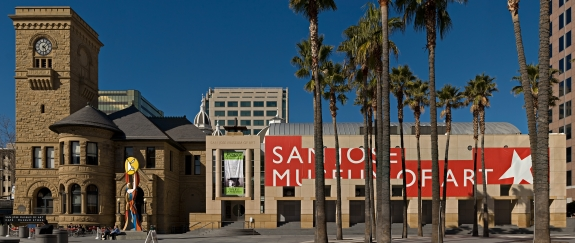 The San Jose Museum of Art.