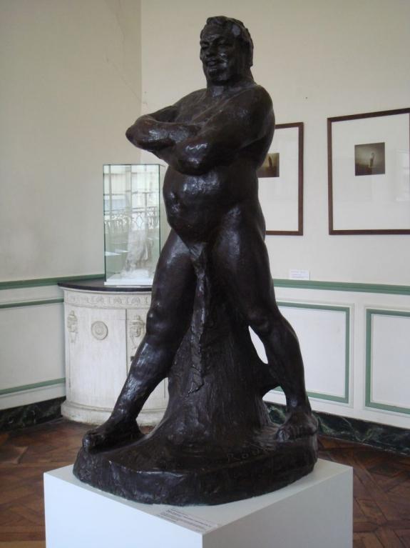Rodin statue of Balzac.