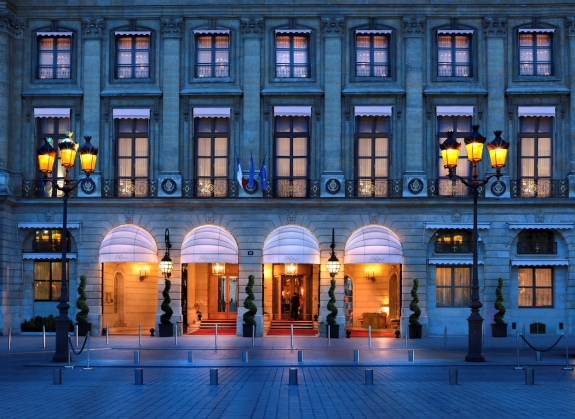 The Ritz Paris.