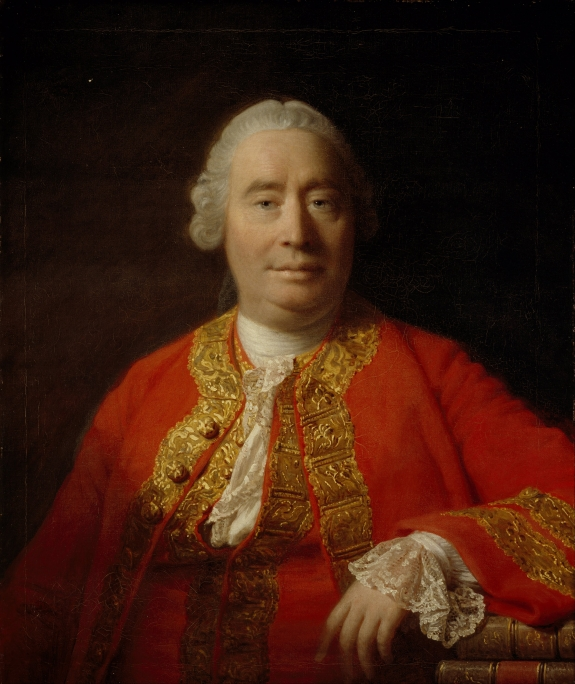 A portrait of David Hume.