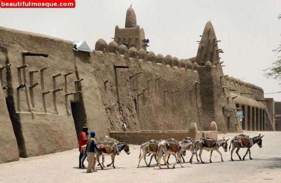Sidi Yahya mosque in Timbuktu
