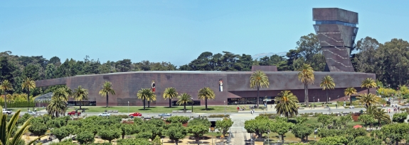 The de Young Museum.