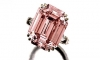 "A ""fancy intense pink"" diamond sold for 9.6 million francs ($10.9 million) including fees in Sotheby's auction of jewels in Geneva on May 17. The emerald-cut stone weighs 10.99 carats and had not been on the market for 30 years."