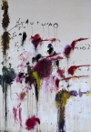 """Quattro Stagioni: Autunno"" (1993-5), by Cy Twombly. The picture will be on show in ""Twombly & Poussin: Arcadian Painters,"" at Dulwich Picture Gallery in London from June 29 to Sept 25."