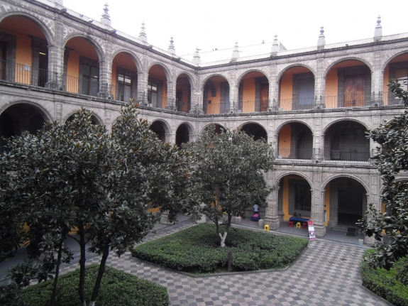 San Ildefonso museum in Mexico City.