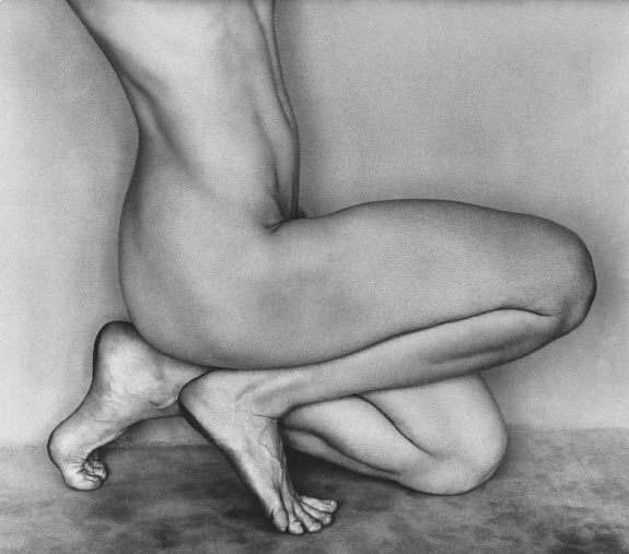 Edward Weston, Nude, 1927, gelatin silver print, ©1981 Center for Creative Photography, Arizona Board of Regents.