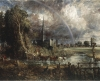 John Constable's 'Salisbury Cathedral from the Meadows.'