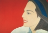 Alex Katz's 'The Red Smile,' 1963.