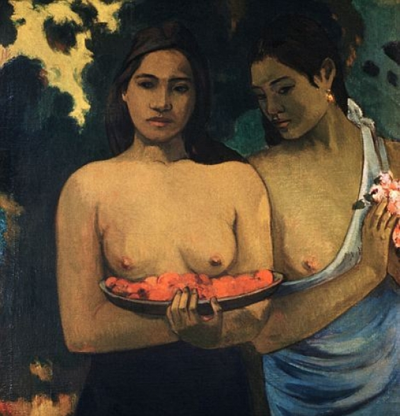 Rage: A woman attacked Gauguin¿s 'Two Tahitian Women'