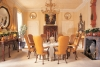 Thomas Britt's dining room from the 1997 Kips Bay Show House. Photogaphy by Phillip H. Ennis.