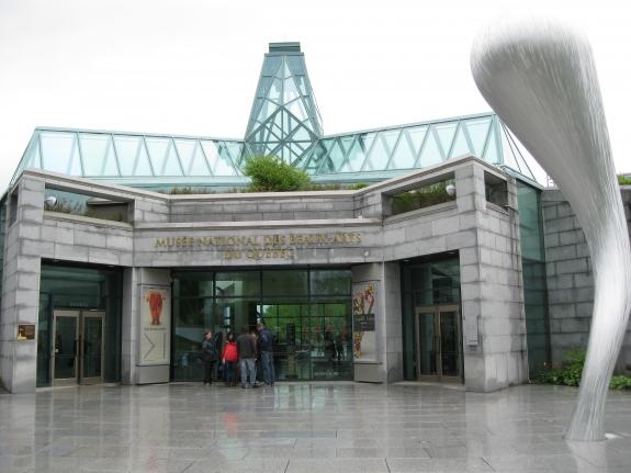 The Musée Nationale des Beaux-Arts de Québec.