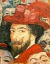 A self-portrait by James Ensor.