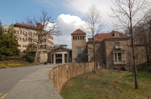 The Winterthur Museum building.