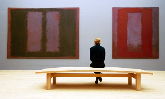 Inner space ... the Mark Rothko room at London's Tate Modern.