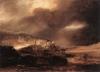 Rembrandt's 'Stormy Landscape.'