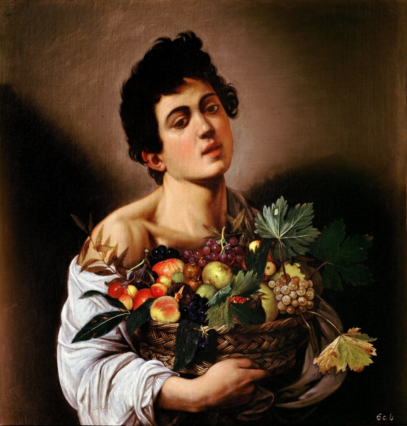 Caravaggio's 'Boy with a Basket of Fruit.'