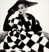 Irving Penn's photograph Harlequin Dress, Lisa Fonssagrives-Penn, 1950, brought $131,450 at Heritage Auctions.