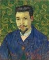Vincent van Gogh's portrait of Felix Rey.