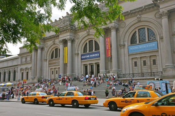Outside The Metropolitan Museum of Art