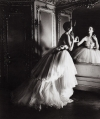 A Christian Dior gown photographed by Louise Dahl-Wolfe.