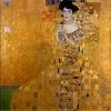 Adele Bloch-Bauer by Gustav Klimt.