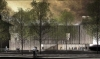 Rendering of the new Clyfford Still Museum by Allied Works Architecture
