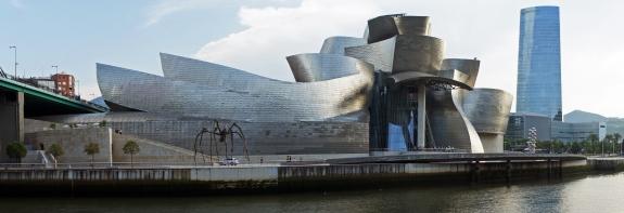 The Guggenheim Museum Bilbao.