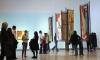 Funding crisis ... Visitors tour the Rose Art Museum at Brandeis University, Massachusetts, January 2009.