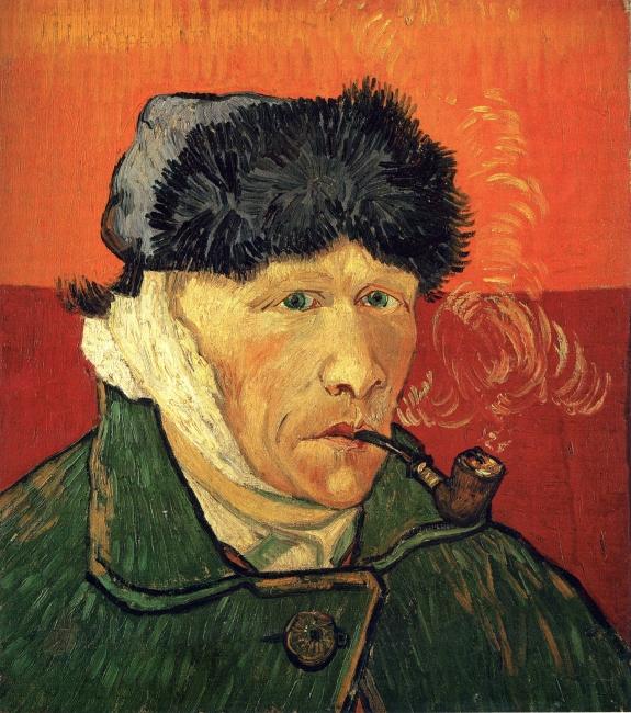 Vincent van Gogh 'Self-Portrait with Bandaged Ear.'
