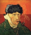 Vincent van Gogh 'Self-Portrait with Bandaged Ear.'