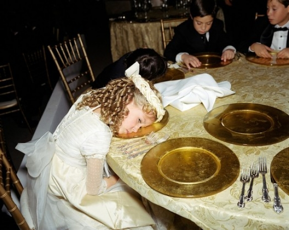 "In ""Nirvana"" (2006), Mexico City-based Yvonne Venegas photographs wealthy — and bored — children."
