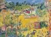 Maurice de Vlaminck (1876-1958) , Paysage de banlieue