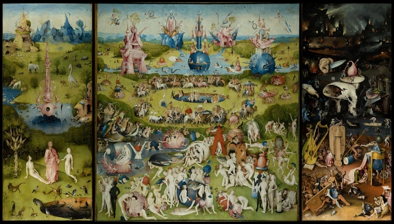 Hieronymous Bosch's 'The Garden of Earthly Delights.'