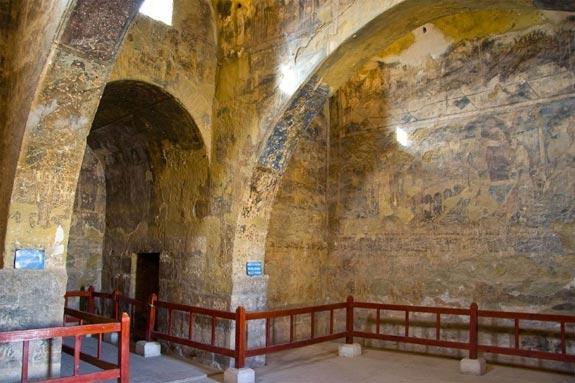 Qasr Amra Audience Hall.
