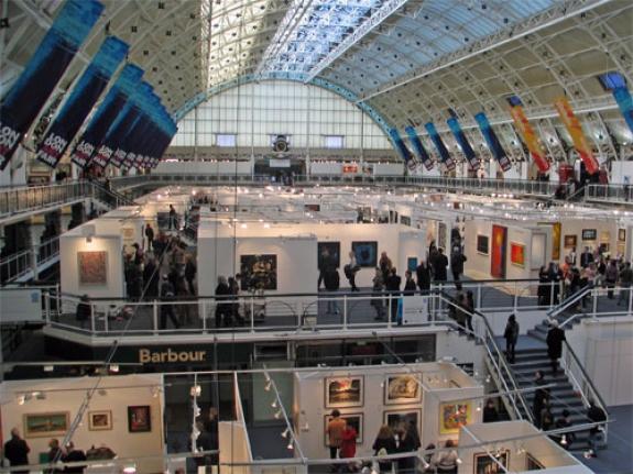 London art fair opens with political tinge