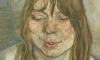 Lucian Freud's Woman Smiling is regarded as the work that pioneered the style of painting for which he is most recognised.
