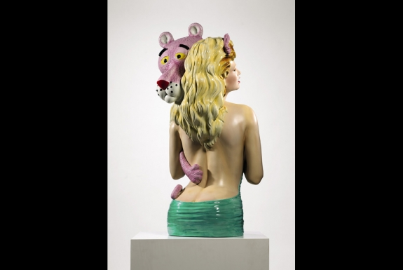 Pink Panther is a 20th-century masterpiece and one of the most iconic sculptures of Jeff Koons's oeuvre. Photo: Sotheby's.